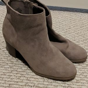 Old Navy Gray Booties